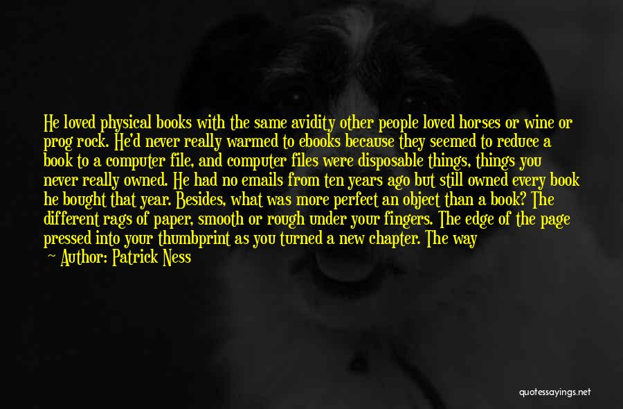 Same Book Different Page Quotes By Patrick Ness