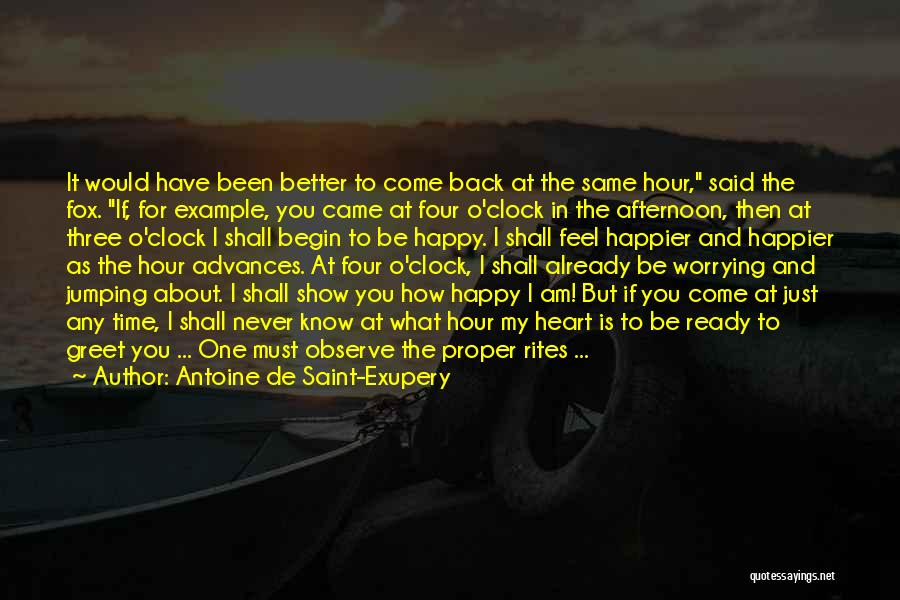 Same Heart As You Quotes By Antoine De Saint-Exupery