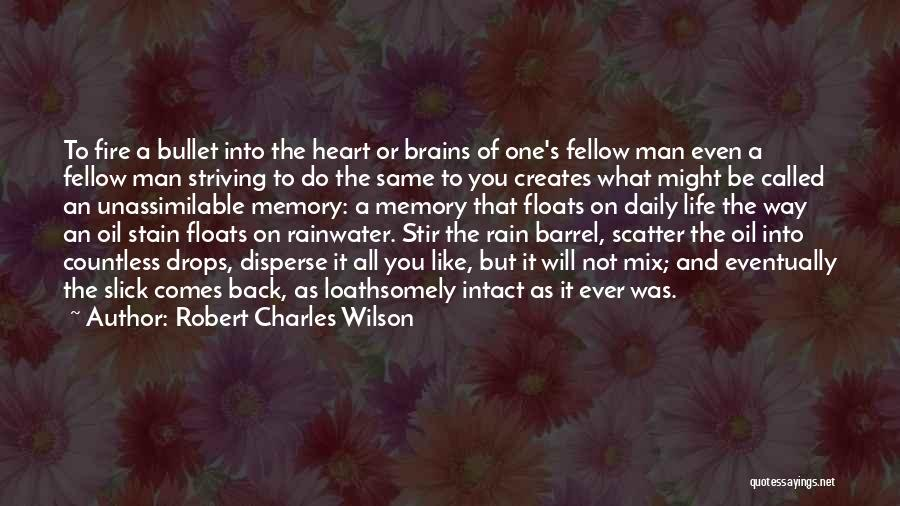 Same Heart As You Quotes By Robert Charles Wilson