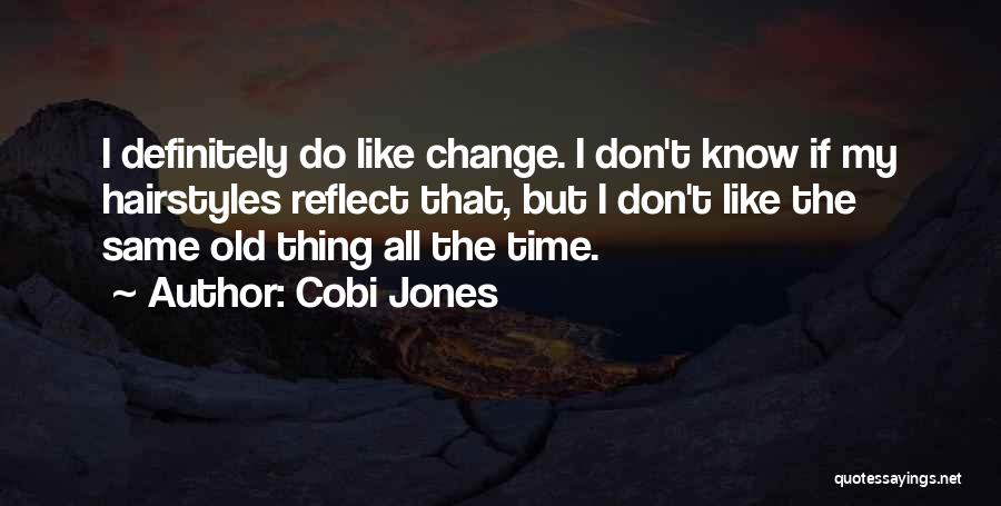 Same Time Quotes By Cobi Jones