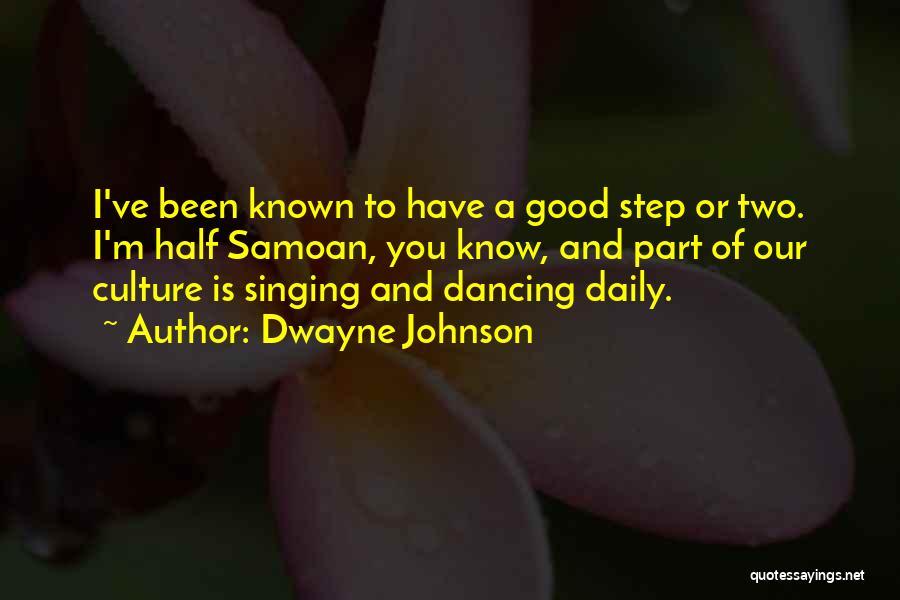 Samoan Quotes By Dwayne Johnson
