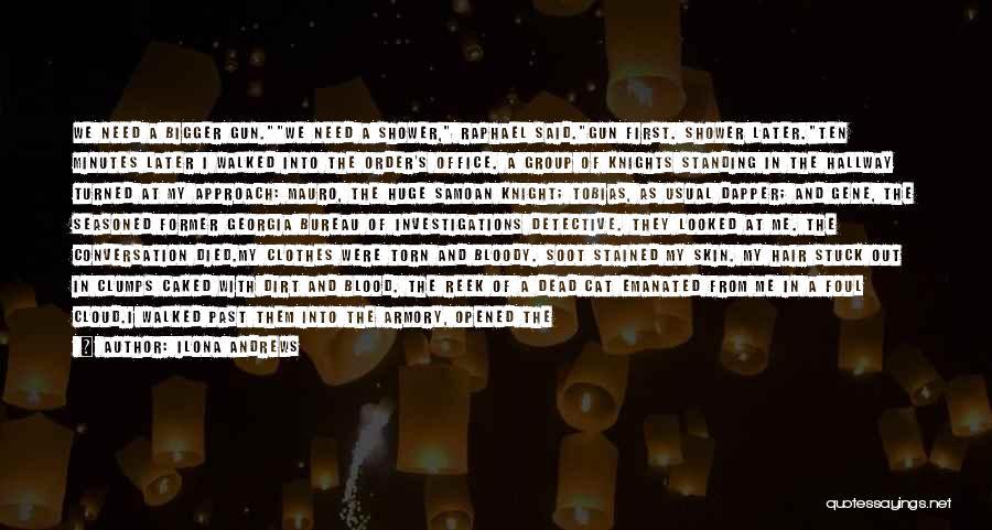 Samoan Quotes By Ilona Andrews