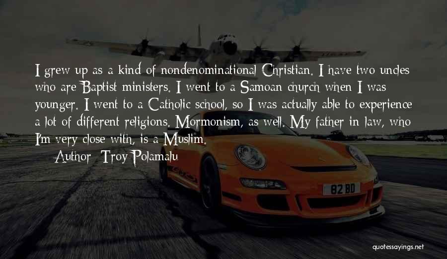 Samoan Quotes By Troy Polamalu