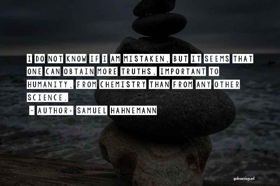 Samuel Hahnemann Quotes 1642727