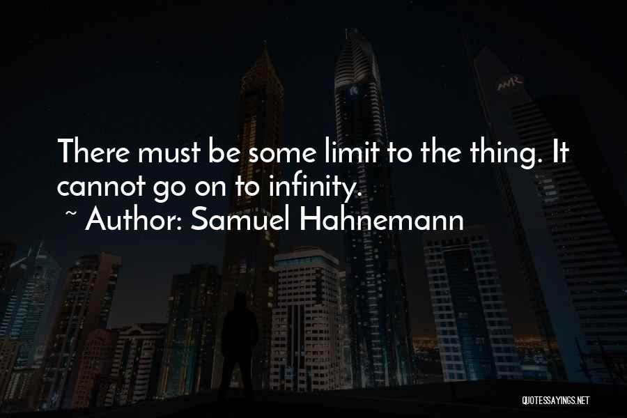 Samuel Hahnemann Quotes 2258449