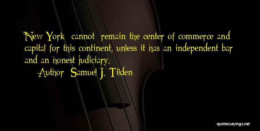 Samuel J. Tilden Quotes 1201207