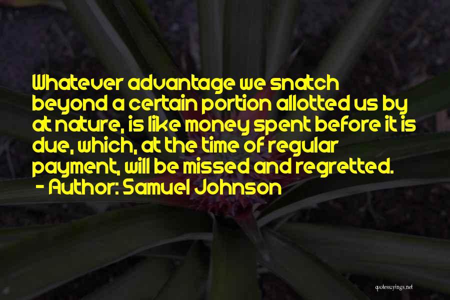 Samuel Johnson Quotes 1110684