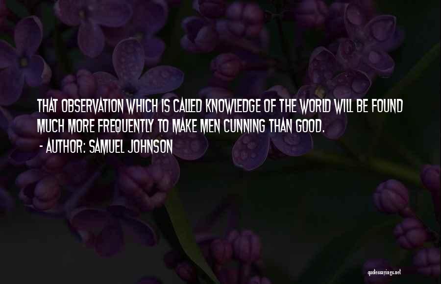 Samuel Johnson Quotes 1153707