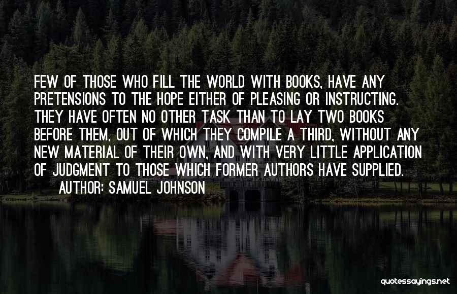 Samuel Johnson Quotes 1377115