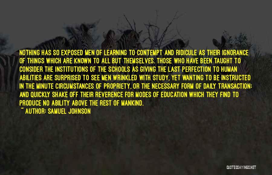 Samuel Johnson Quotes 1396412