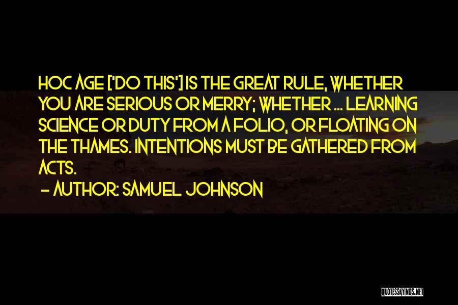 Samuel Johnson Quotes 1606648