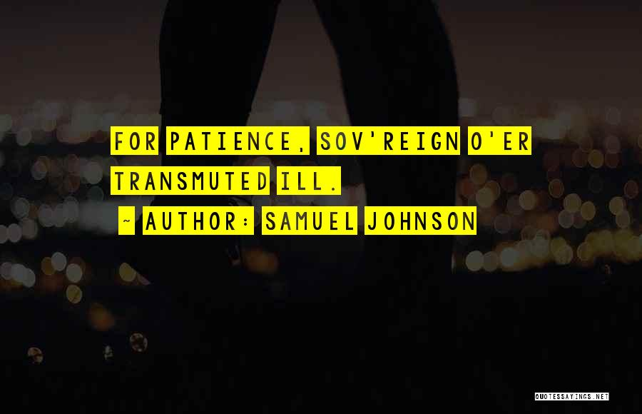 Samuel Johnson Quotes 168586