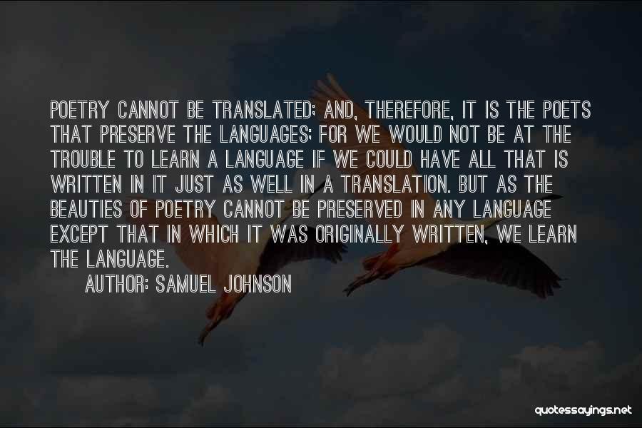 Samuel Johnson Quotes 2026427