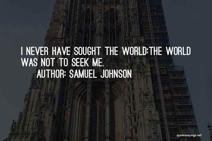 Samuel Johnson Quotes 788817