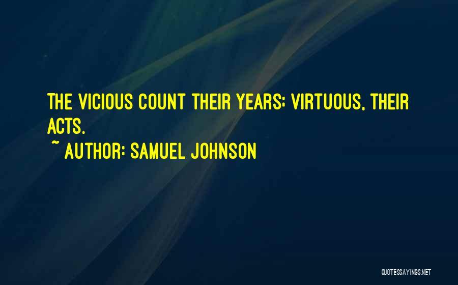 Samuel Johnson Quotes 857360