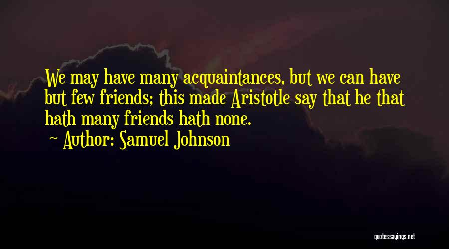 Samuel Johnson Quotes 992806