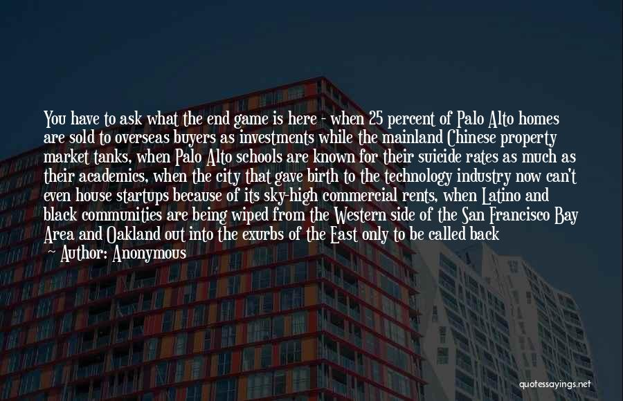 San Francisco Bay Area Quotes By Anonymous
