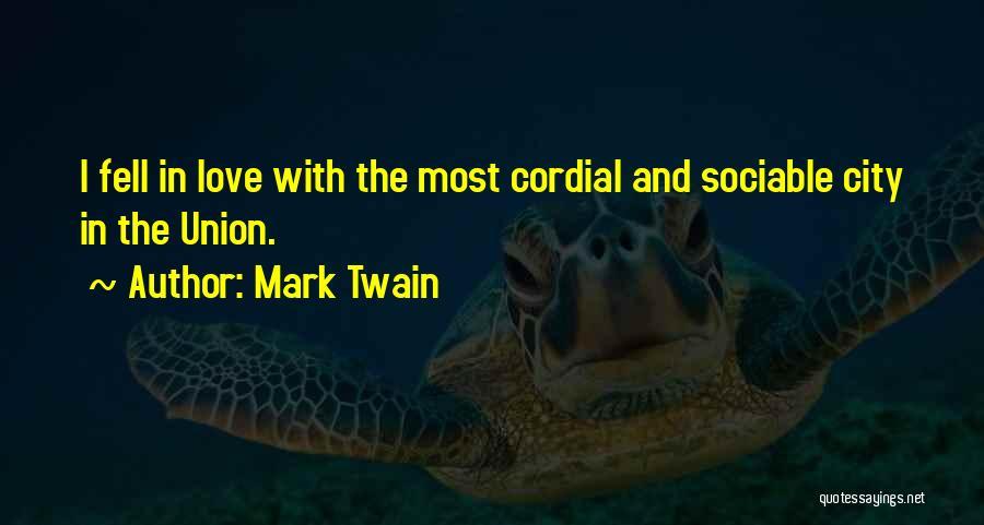 San Francisco Bay Area Quotes By Mark Twain