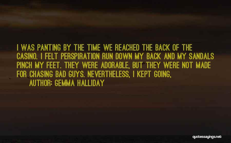 Sandals Quotes By Gemma Halliday