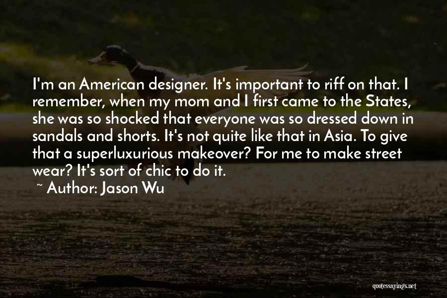 Sandals Quotes By Jason Wu