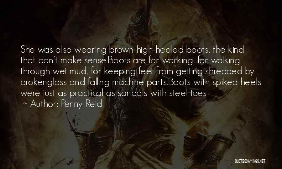 Sandals Quotes By Penny Reid
