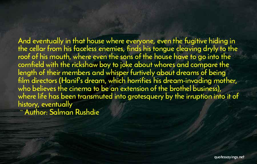 Sandals Quotes By Salman Rushdie