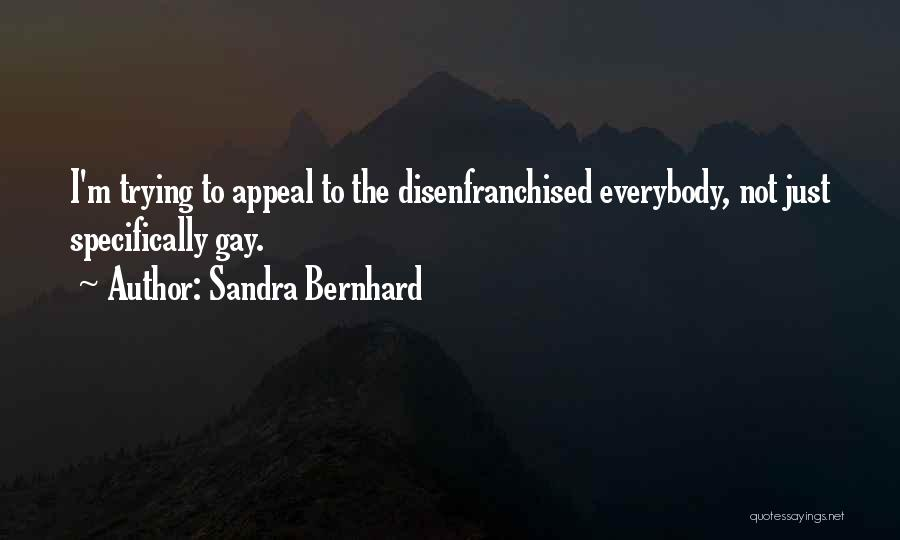 Sandra Bernhard Quotes 368380