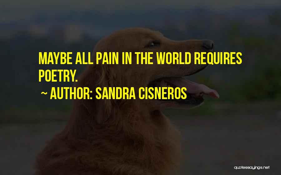 Sandra Cisneros Poetry Quotes By Sandra Cisneros