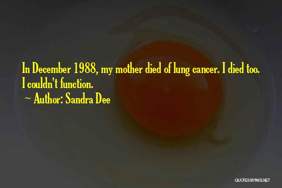 Sandra Dee Quotes 1851428