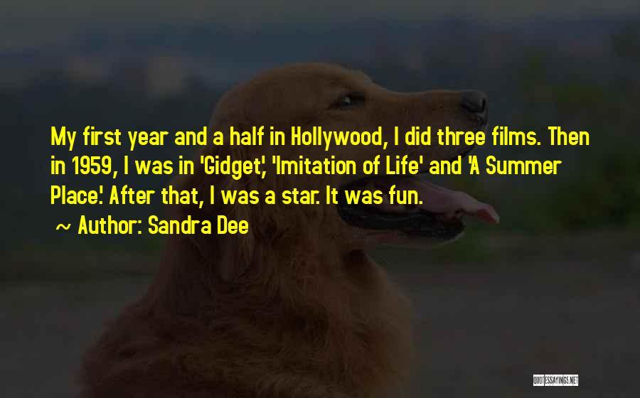 Sandra Dee Quotes 1895820