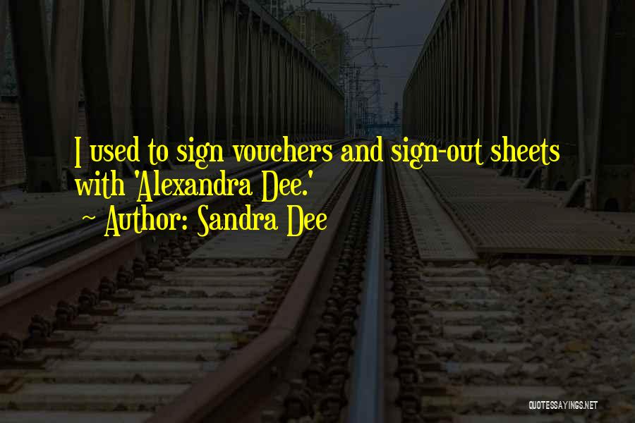 Sandra Dee Quotes 1981072