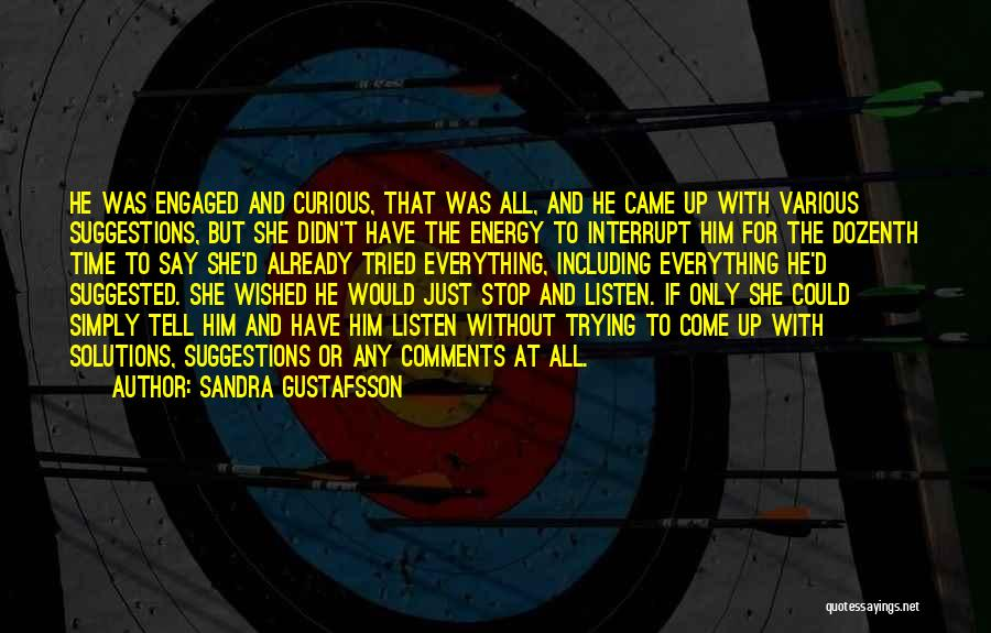 Sandra Gustafsson Quotes 1298941