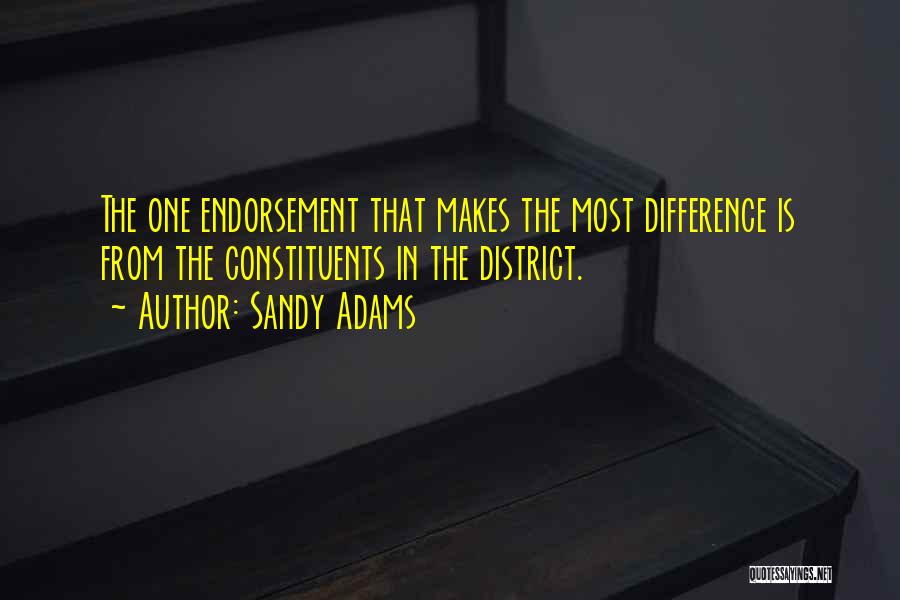 Sandy Adams Quotes 1840688