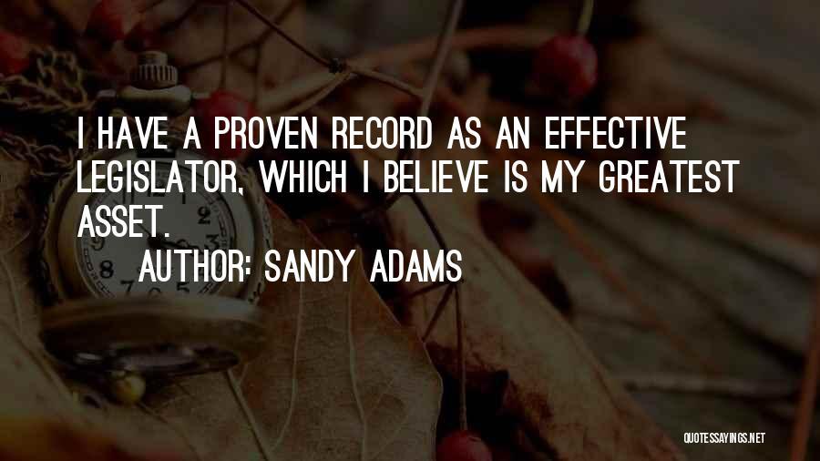 Sandy Adams Quotes 483791