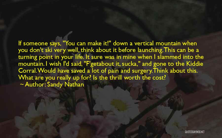 Sandy Nathan Quotes 1437541