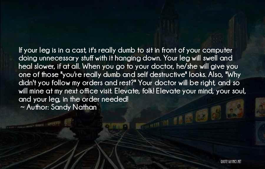 Sandy Nathan Quotes 1618054