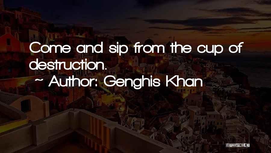 Sant Baba Jarnail Singh Quotes By Genghis Khan