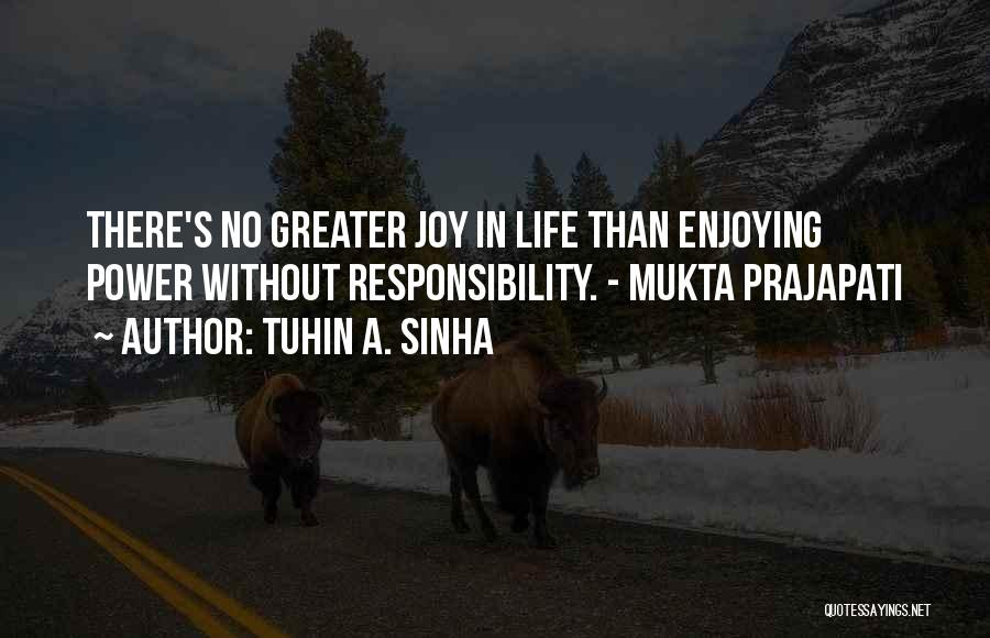 Sant Baba Jarnail Singh Quotes By Tuhin A. Sinha