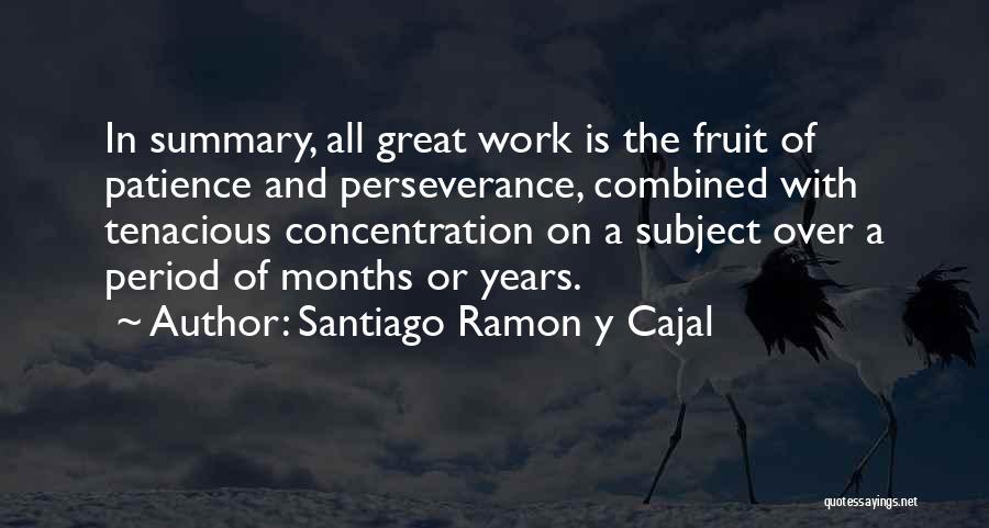 Santiago Ramon Y Cajal Quotes 1842524