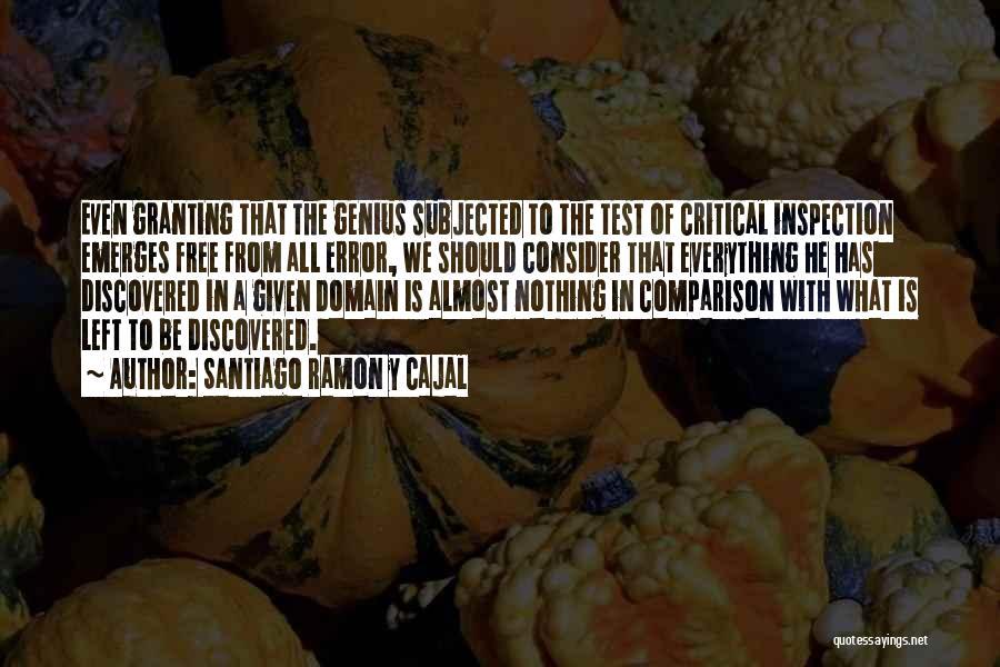 Santiago Ramon Y Cajal Quotes 342540