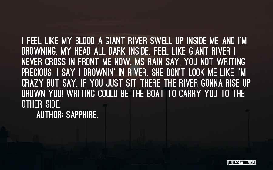 Sapphire. Quotes 131523