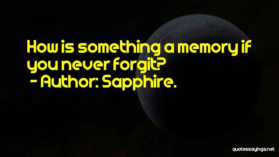 Sapphire. Quotes 1528024
