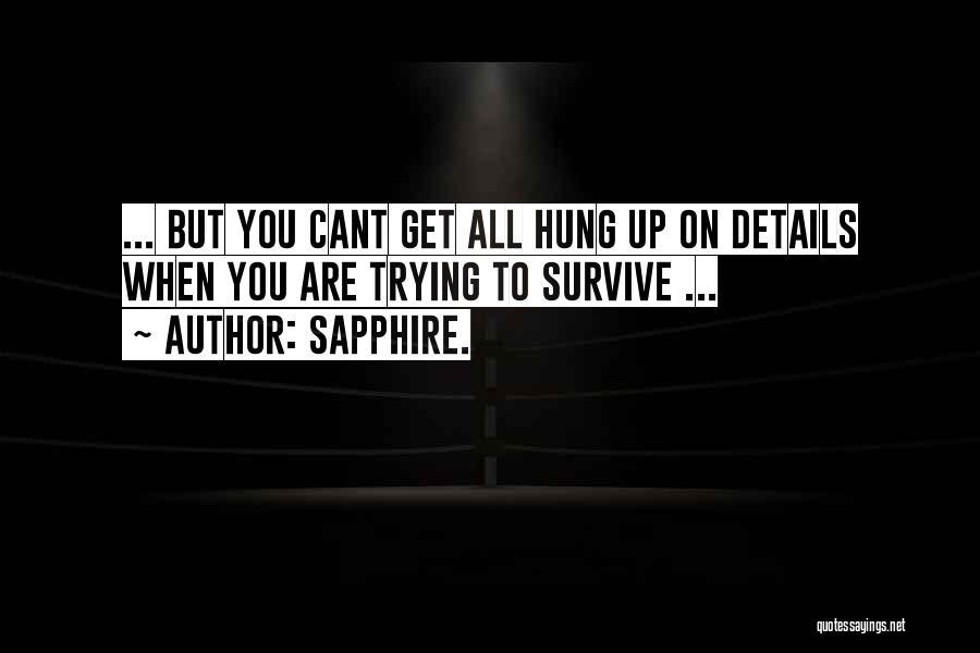 Sapphire. Quotes 1578613