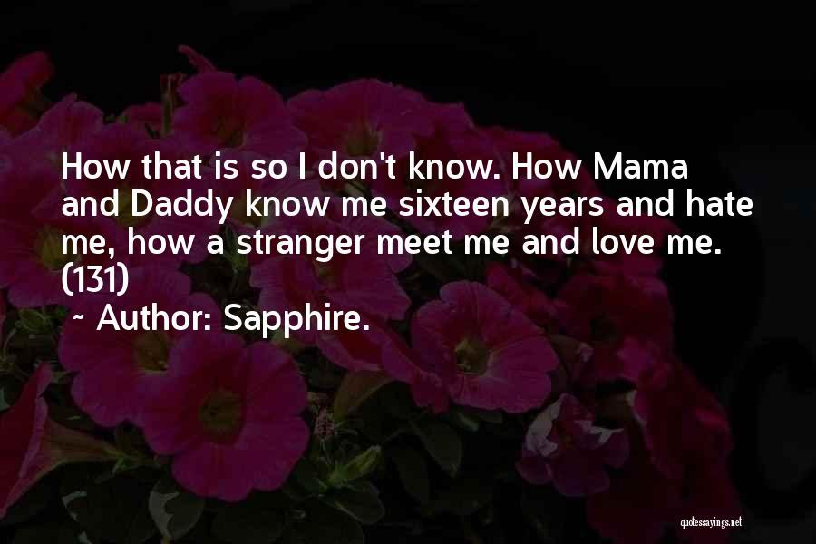 Sapphire. Quotes 158381