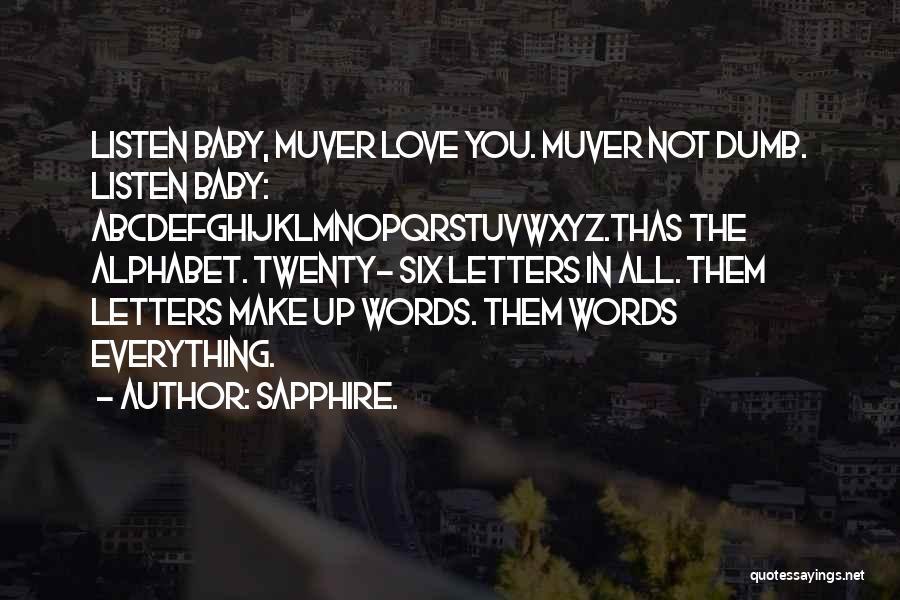 Sapphire. Quotes 1612361