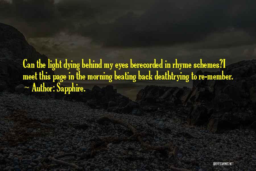 Sapphire. Quotes 1779346