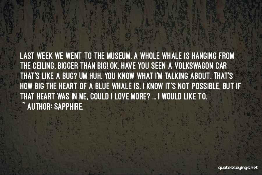Sapphire. Quotes 2118215