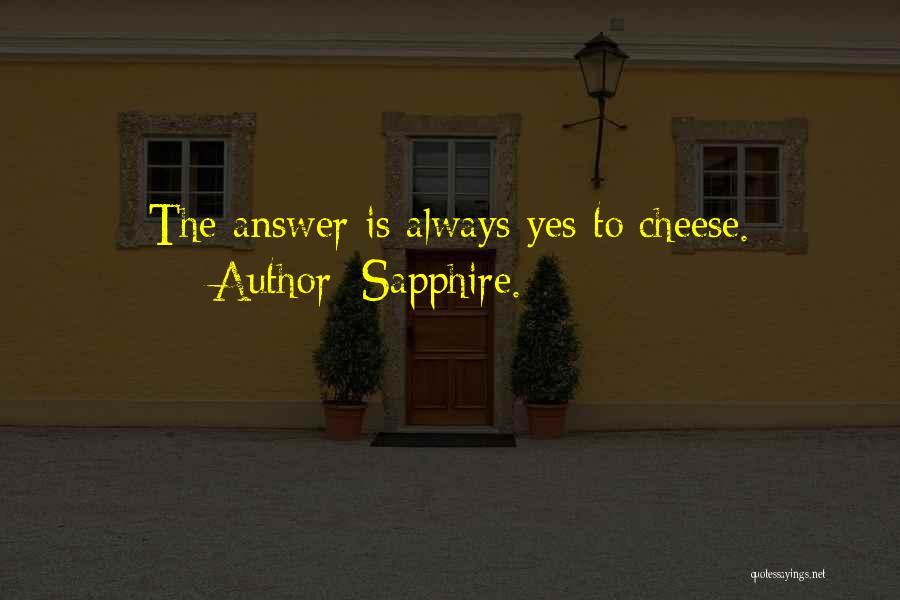 Sapphire. Quotes 2134178