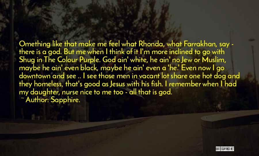 Sapphire. Quotes 502546