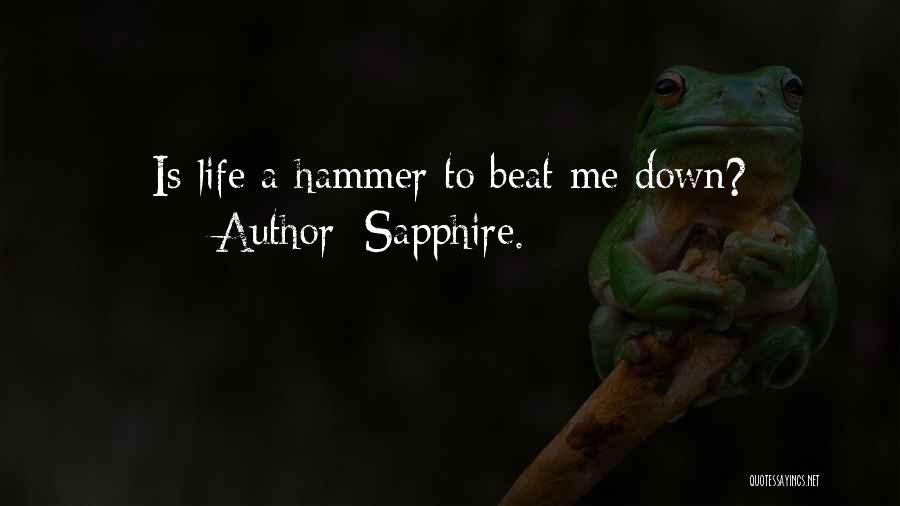 Sapphire. Quotes 658089